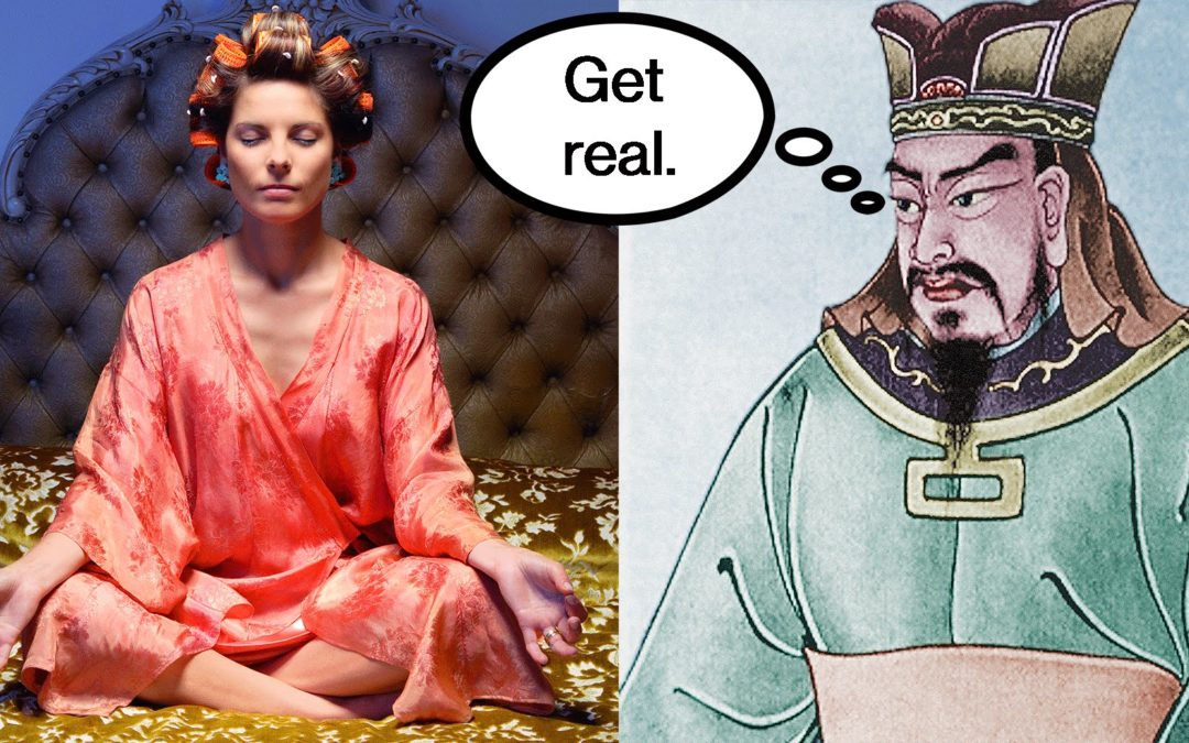 Mindful Self-Acceptance? Bad Idea According to Ancient Chinese Philosophers.
