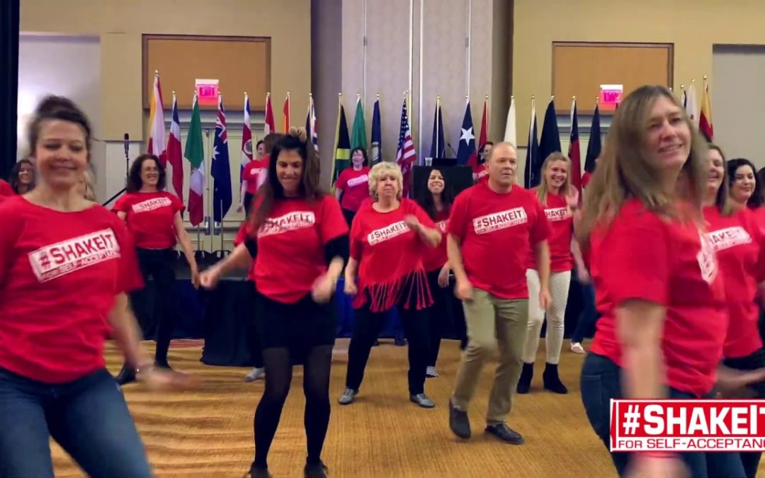 #ShakeIt for Self-Acceptance!® at iaedp™ Symposium 2019