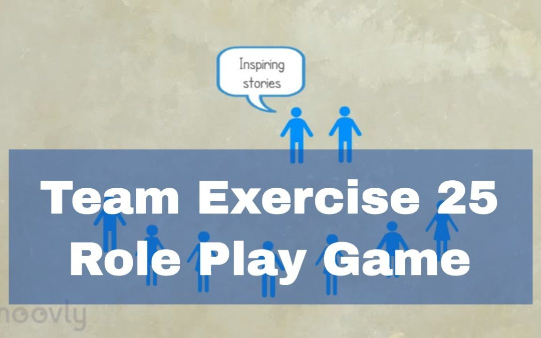 Communication Exercises – Role Play Game #25