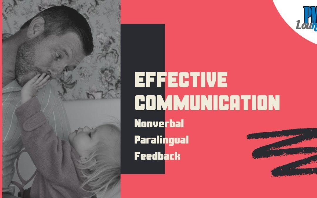 Aspects of Effective Communication   Nonverbal & Paralingual Communication   Active Listening